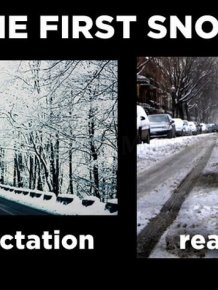 Holiday Expectations Vs Reality