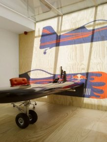 The main office of Red Bull from Sid Lee Architecture