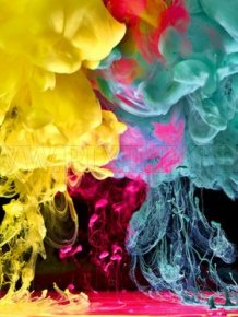 Amazing underwater ink photography