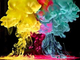 Amazing underwater ink photography