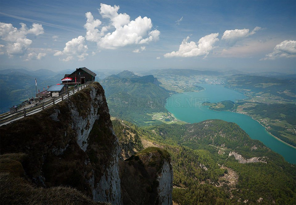 On The Edge Of The World Schafberg Mountain Others