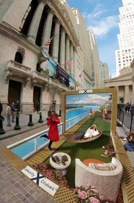 Gorgeous 3D public illustrations