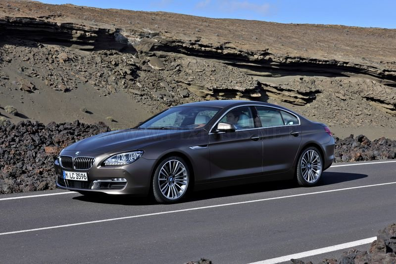 Four-door coupe BMW 6-Series Gran Coupe