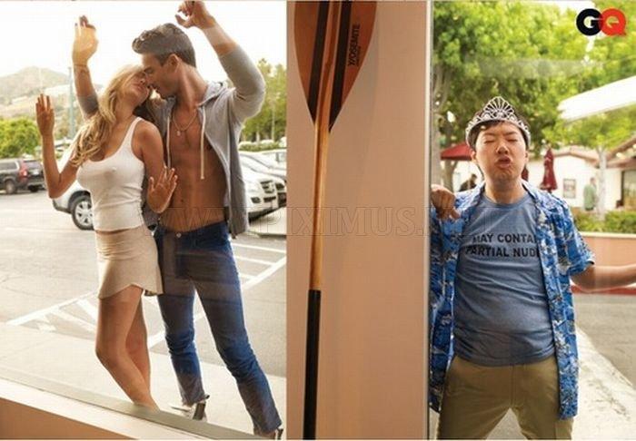 Ken Jeonga's Photobombing Skills