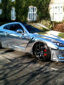 Chromed Cars