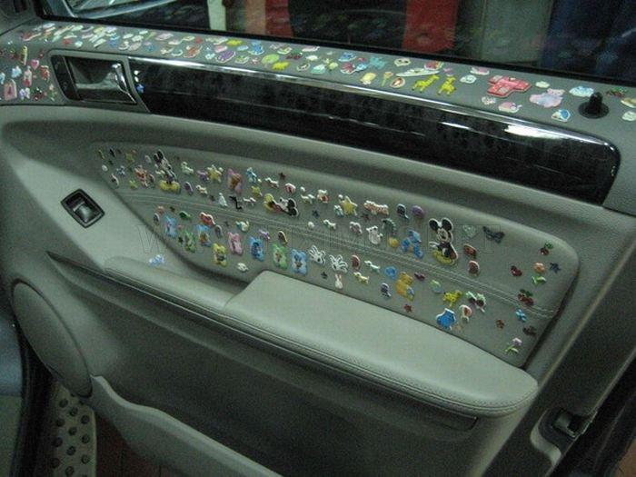 Crazy Mercedes-Benz Decoration