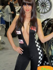Hot German Car Show Babes