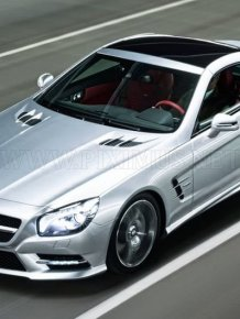 First photos of new Mercedes-Benz SL