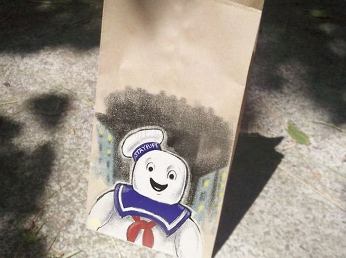 Lunch Bag Art