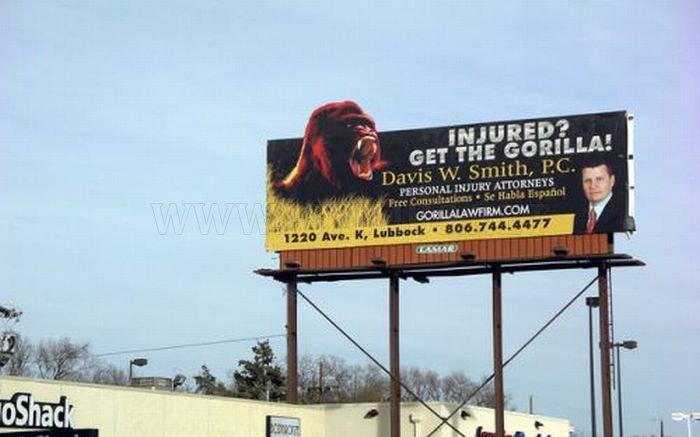 Funny Lawyer Billboards