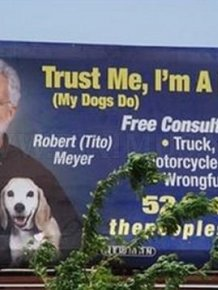 Funny Lawyer Billboards