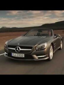 The new Mercedes-Benz SL-class