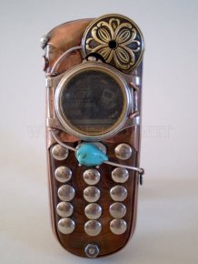 Steampunk Cell Phones