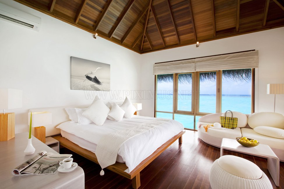 Maafushivaru hotel in the Maldives