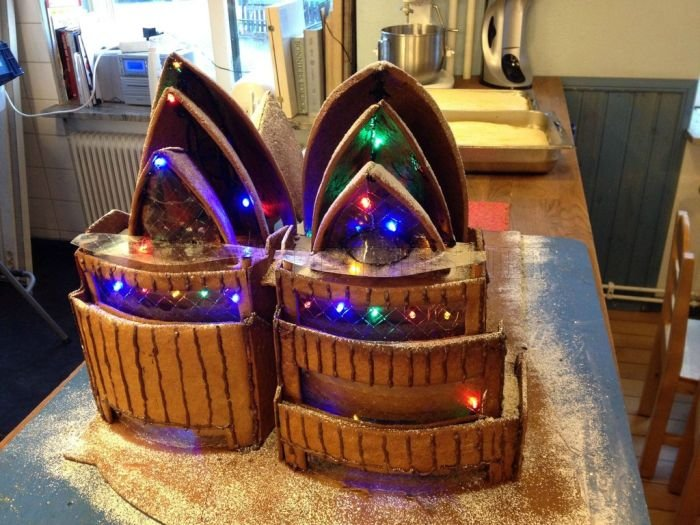 Gingerbread Sydney Opera House