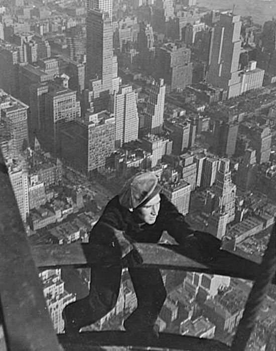 New York Construction Workers of the Past
