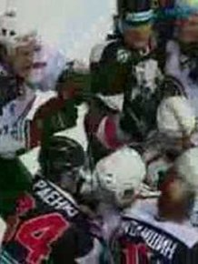 Biggest Hockey Mass Fight