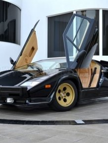 Lamborghini Countach QV 5000 on 1979 miles