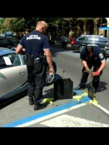 Bugatti Veyron vs POLICE