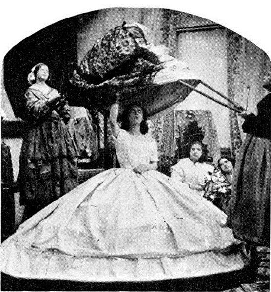 Getting Dressed in 1860 , part 1860