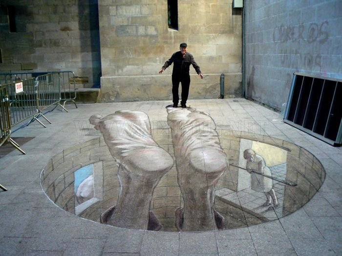 3d street art illusions