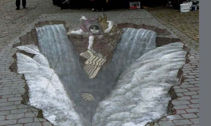 Amazing 3D Street Art Illusions