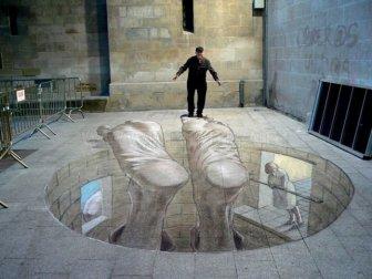 Amazing 3D Street Art Illusions