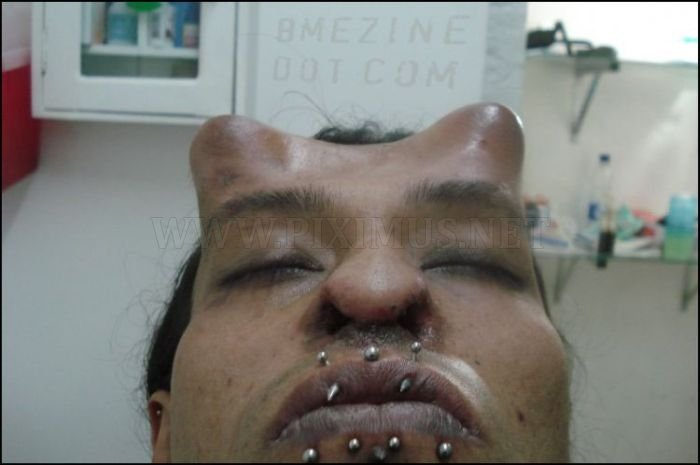 Very Scary Body Modification