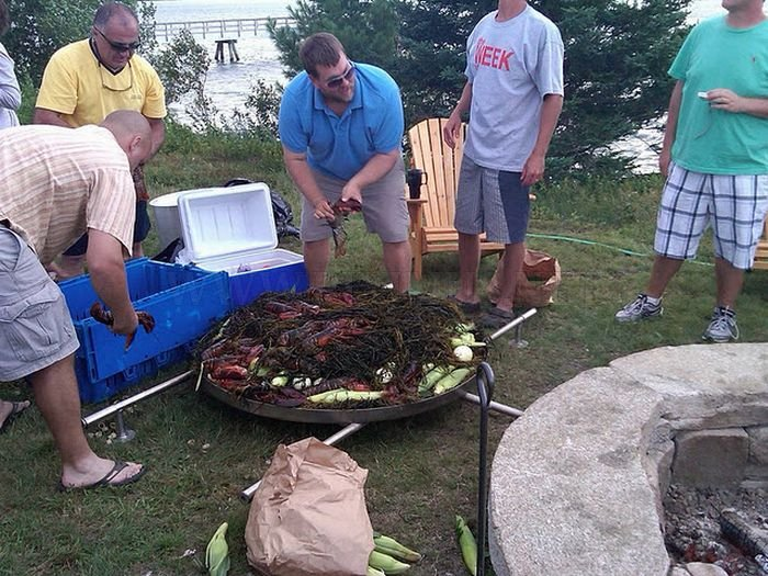 Giant Lobster Bake