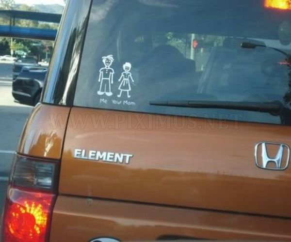 Funny Family Car Stickers