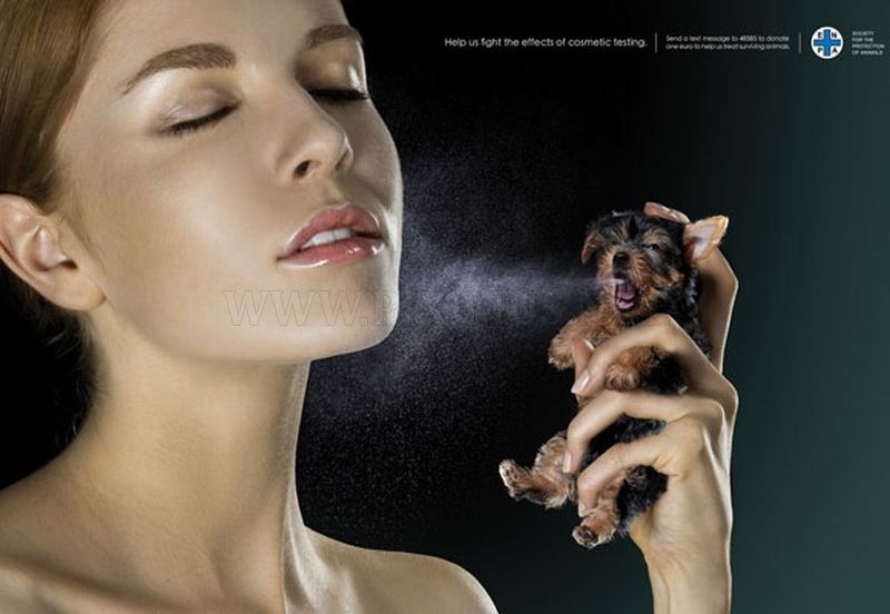 Very Disturbing Print Advertising
