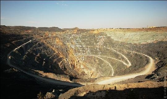 The 500 Meters Deep Open Copper Zinc Mine In Russia Others