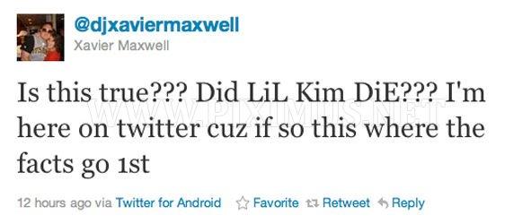 Lil' Kim Died?