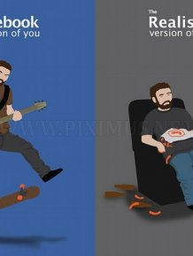 Funny Illustrations by Comical Concept