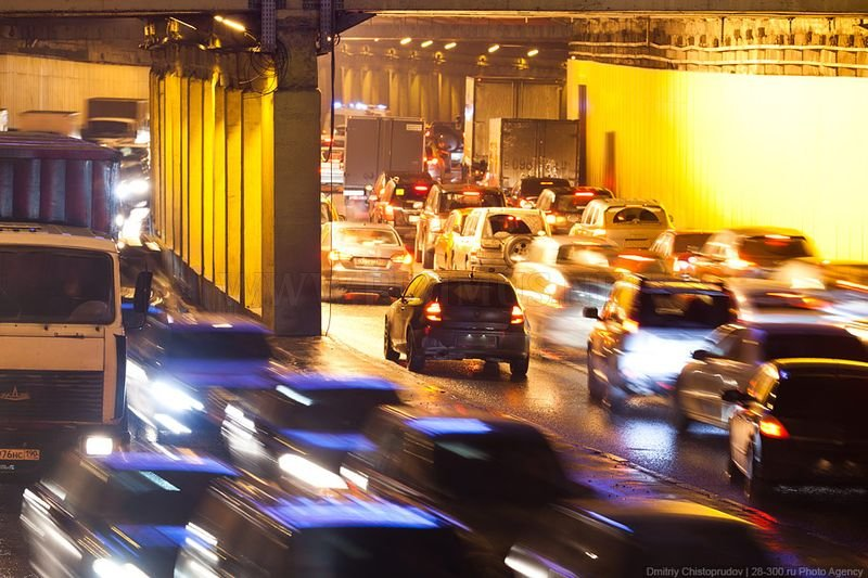 Moscow's traffic jams