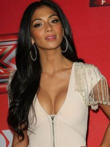 Nicole Scherzinger in tight clothing