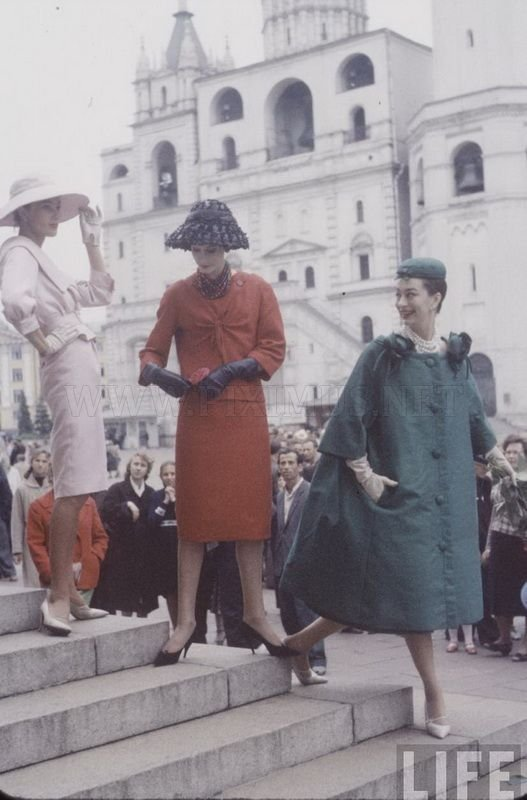 Christian Dior in Moscow, 1959, part 1959