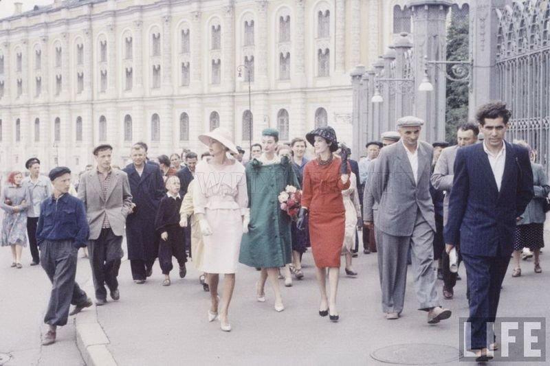 Кристиан Диор в Москве в 1959 году