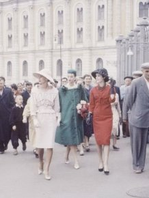 Christian Dior in Moscow, 1959