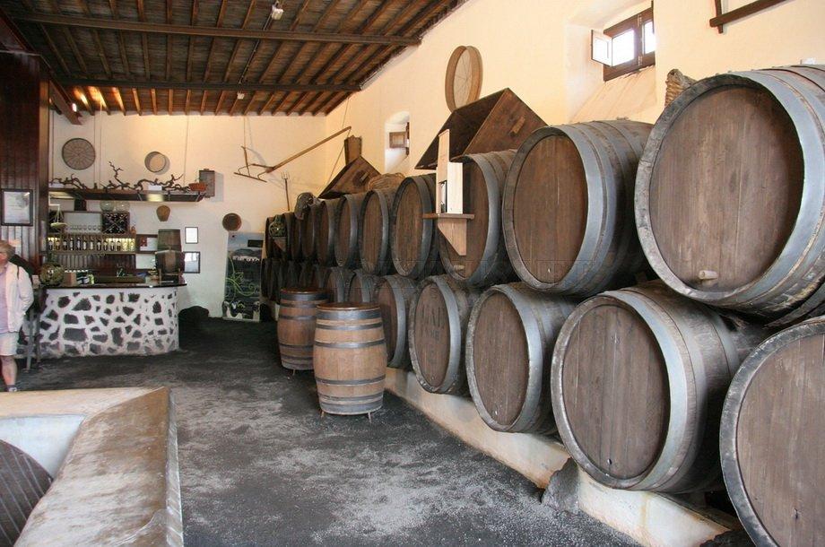 The volcanic island of Lanzarote vineyards