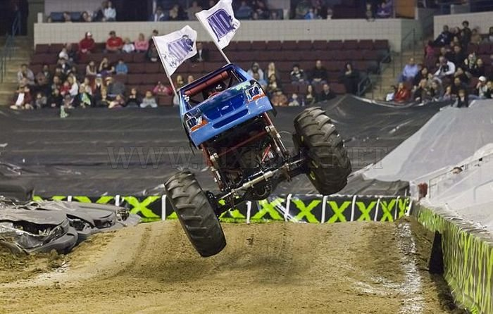 7-Year Old Monster Truck Driver
