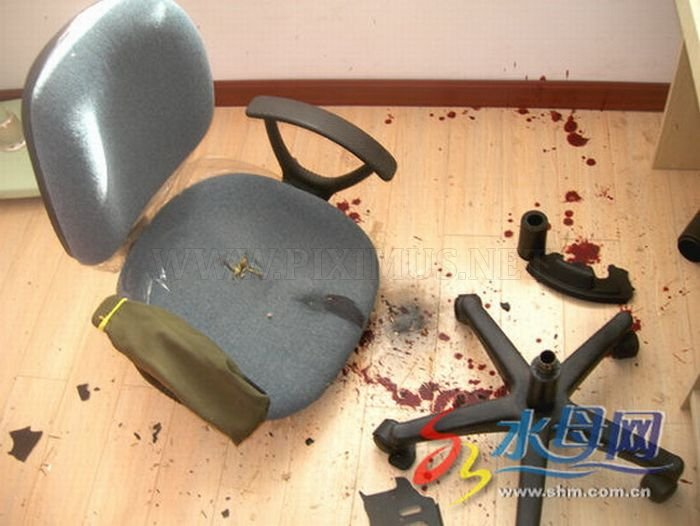 A New Victim of a Cheap Chinese Chair