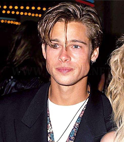 Brad Pitt's Hair Evolution