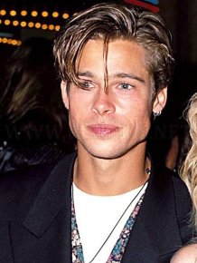 Brad Pitt's Hair Evolution