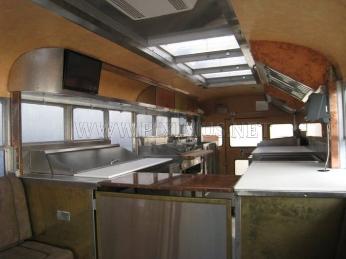 Bus restaurant Le Truc