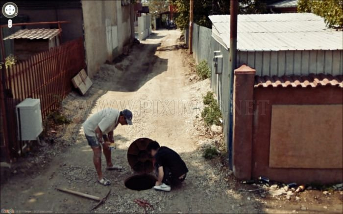 Interesting Images Found on Google Street View