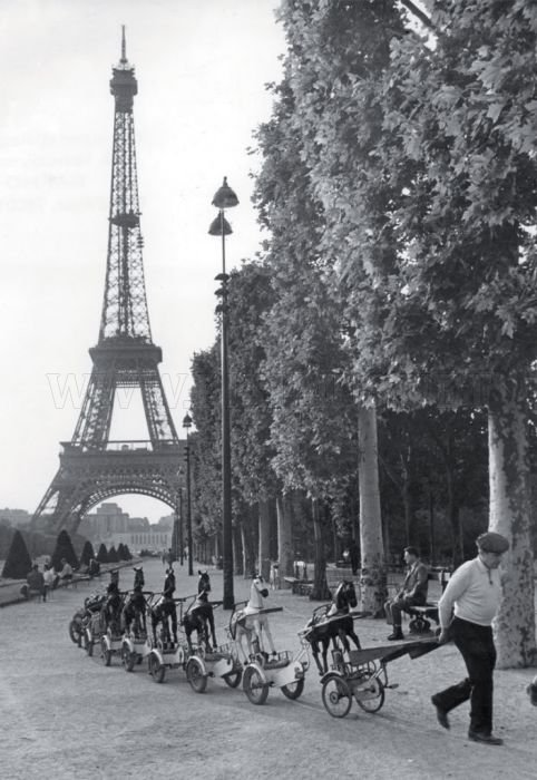 Paris in 1940-50s