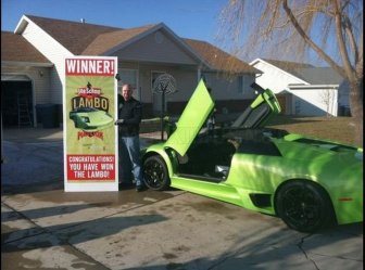 Utah Man Wins and Crashes a Lamborghini