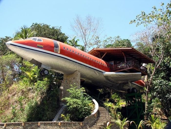 Hotel from Boeing 727, part 727