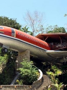 Hotel from Boeing 727